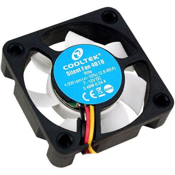 Cooltek Silent Fan 4010 40 mm Lüfter (CT4010BW)