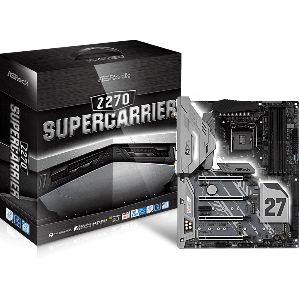 ASRock Z270 SuperCarrier Intel 1151 ATX