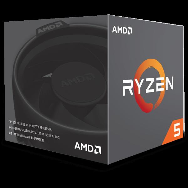 AMD Ryzen 5 1600 6x 3,20 GHz BOX (YD1600BBAEBOX)