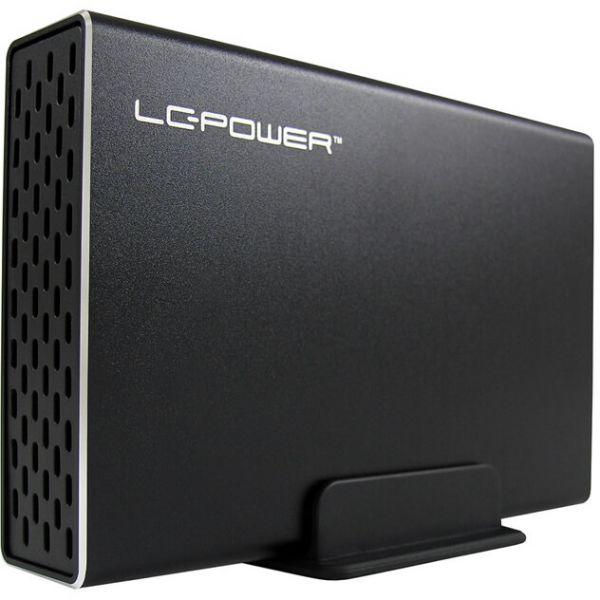 "LC-Power LC-225U3-Raid 2,5"" Externes Gehäuse USB 3.0 Micro-B schwarz"