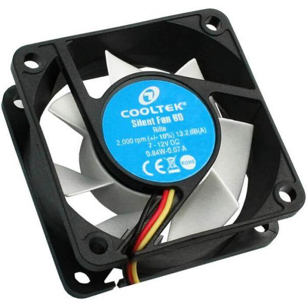 Cooltek Silent Fan 60 60 mm Lüfter (CT60BW)