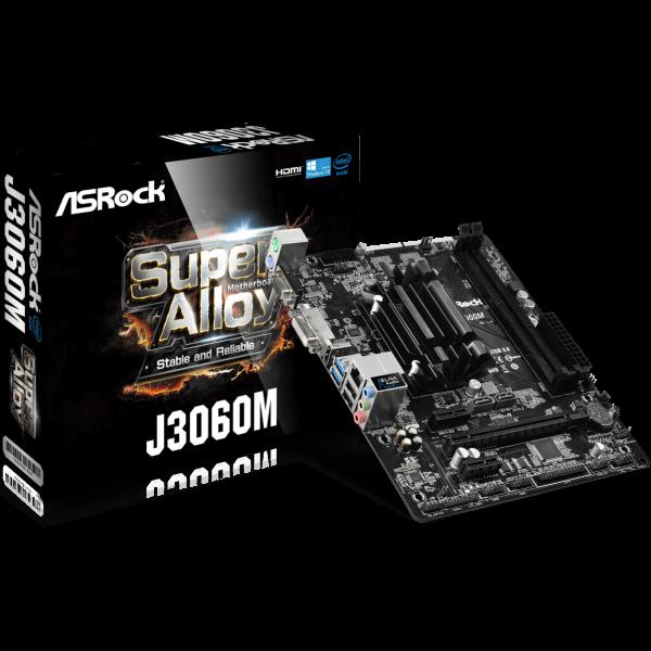 ASRock J3060M integrierte CPU µATX