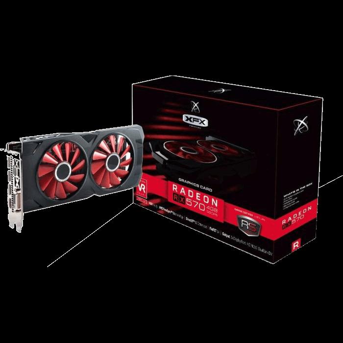 XFX Radeon RX 570 RS XXX Edition 4 GB GDDR5 Retail | AMD ...