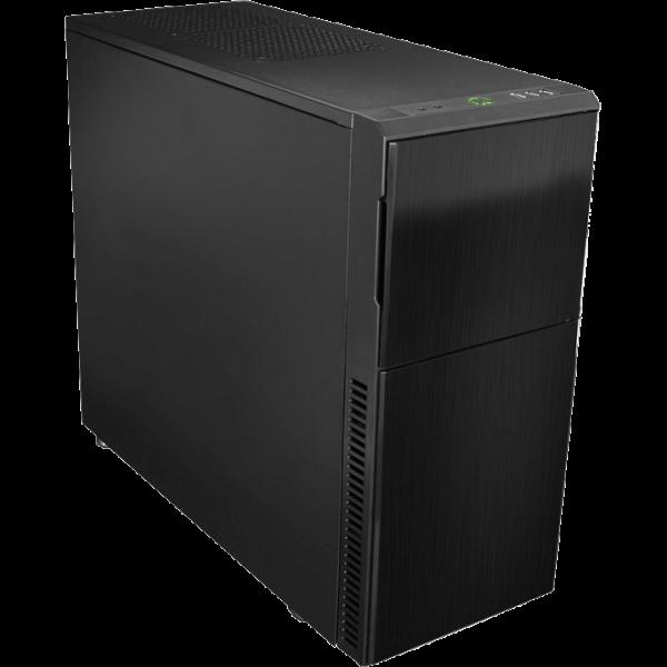 Nanoxia Deep Silence 3 schwarz Midi Tower schallgedämmt