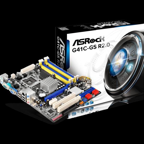 ASRock G41C-GS R2.0 Intel 775 µATX