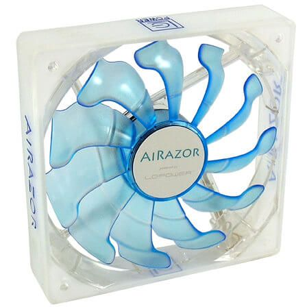 LC-Power AiRazor LC-CF-120-Pro-Blue 120 mm Lüfter LED Blue (LC-CF-120-PRO-BLUE)
