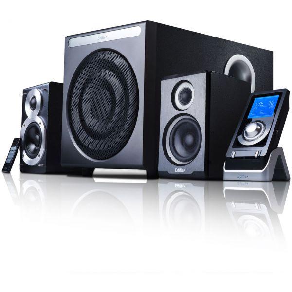 Edifier S530D schwarz 2.1 System (S530D black)