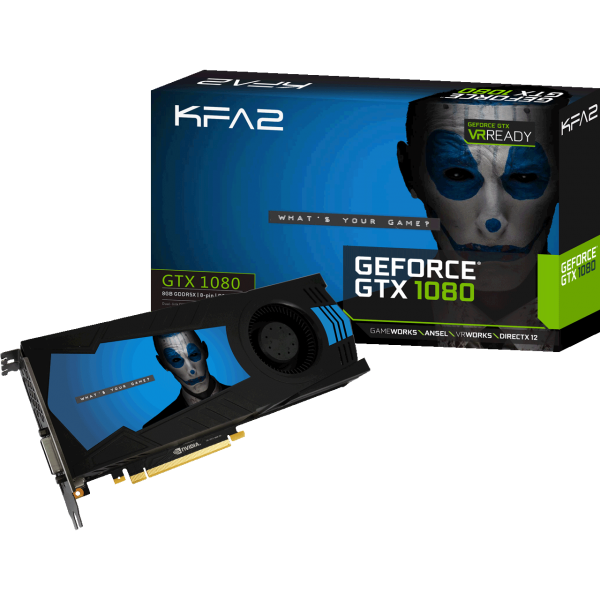 KFA2 GeForce GTX 1080 Virtual Edition 8 GB GDDR5X Retail