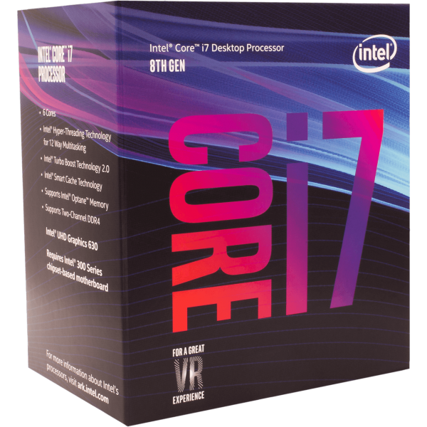 Intel Core i7 8700 6x 3,20 GHz BOX (BX80684I78700)