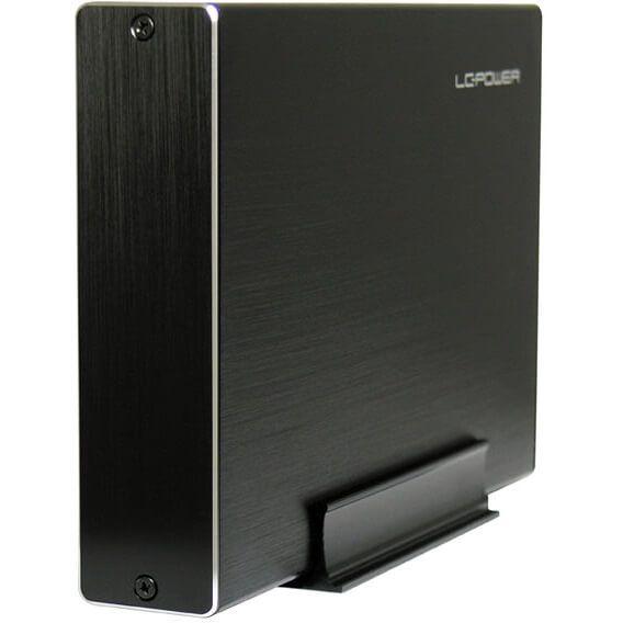 """LC-Power LC-35U3-Becrux 3,5"""" Externes Gehäuse USB 3.0 Typ-B schwarz"""