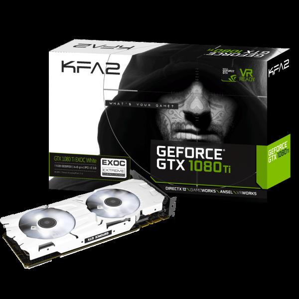 KFA2 GeForce GTX 1080 Ti EXOC White 11 GB GDDR5X Retail