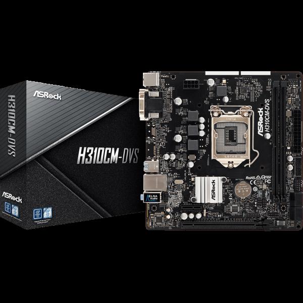 ASRock H310CM-DVS Intel 1151 v2 µATX