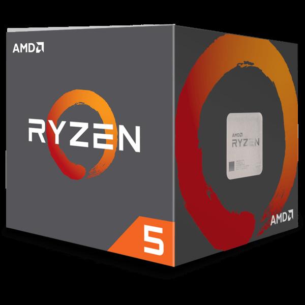 AMD Ryzen 5 2600 6x 3,40 GHz BOX (YD2600BBAFBOX)
