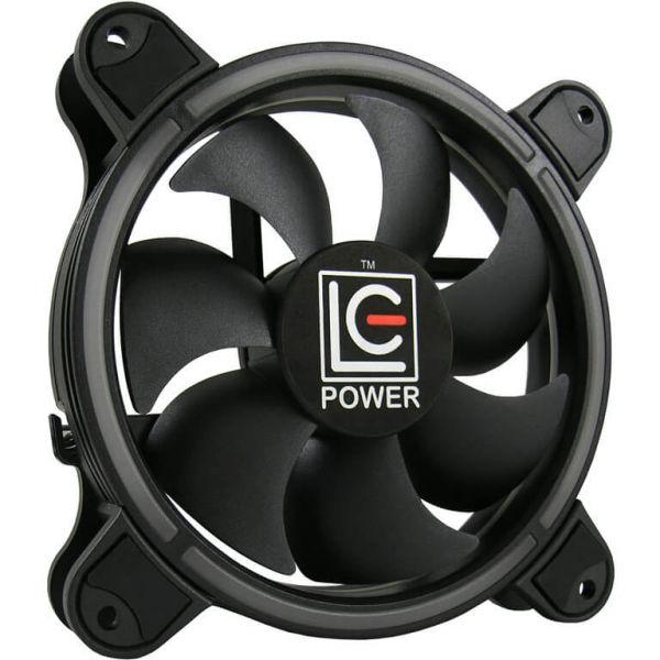 LC-Power AiRazor LC-CF-RGB-Combo 2er Set 120 mm Lüfter LED RGB (LC-CF-RGB-COMBO)