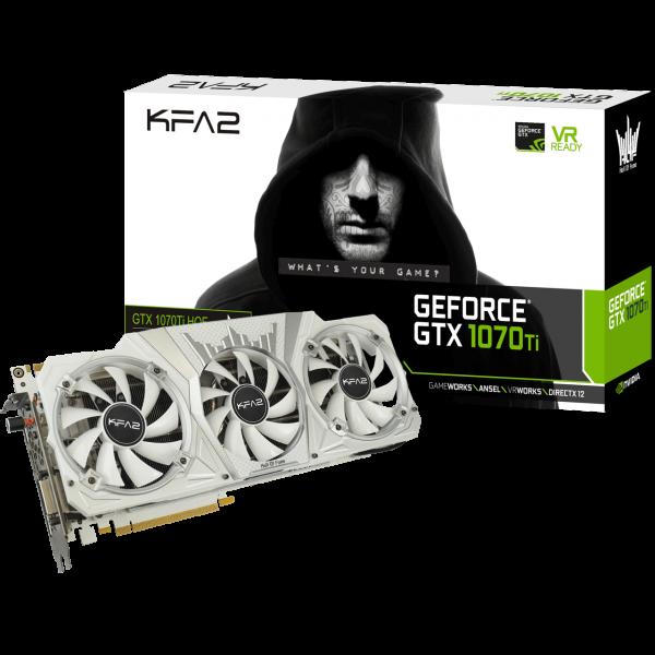 KFA2 GeForce GTX 1070 Ti Hall of Fame 8 GB GDDR5 Retail