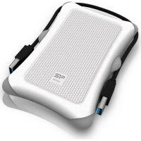 "Silicon Power Armor A30 2,5"" Externes Gehäuse USB 3.1 Typ-A weiß"