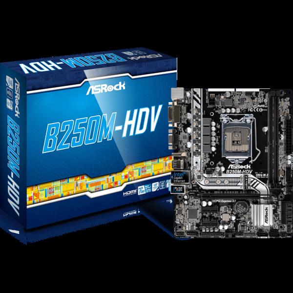ASRock B250M-HDV Intel 1151 µATX