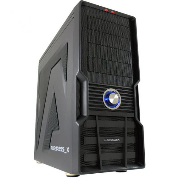 LC-Power 973 B Fortress X schwarz Midi Tower