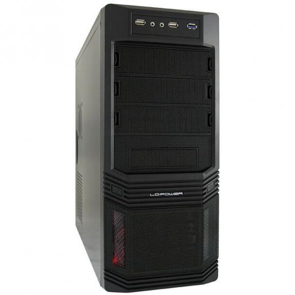 LC-Power Pro 925 B schwarz Midi Tower inkl. 600 Watt Netzteil