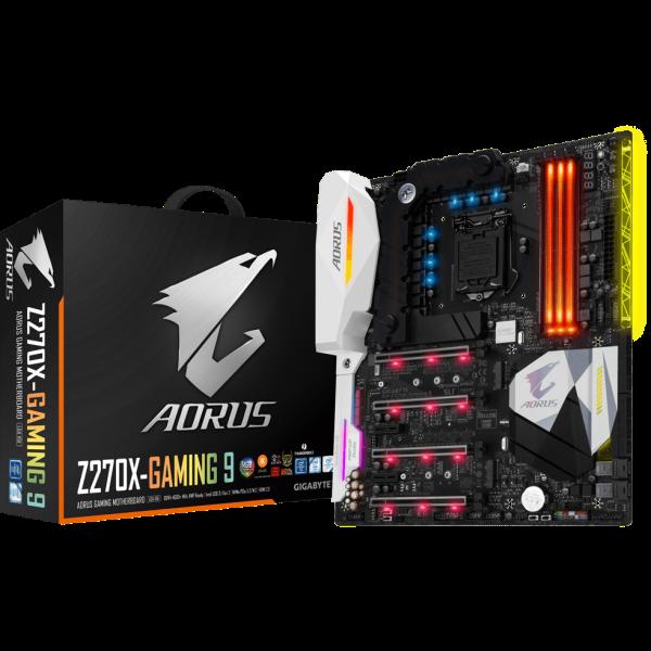 Gigabyte Aorus GA-Z270X-Gaming 9 Intel 1151 E-ATX