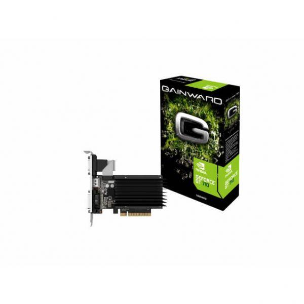 Gainward GeForce GT 710 SilentFX Low Profile Passiv 1 GB DDR3 Retail
