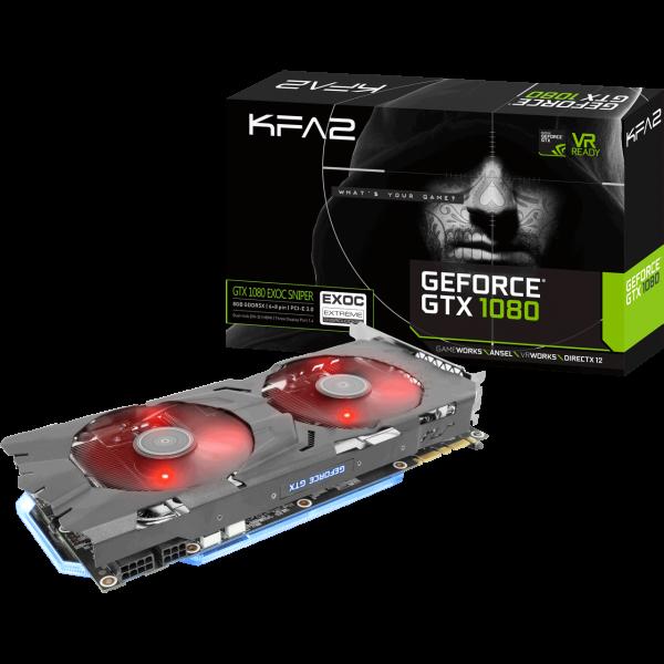 KFA2 GeForce GTX 1080 EXOC SNPR 8 GB GDDR5X Retail