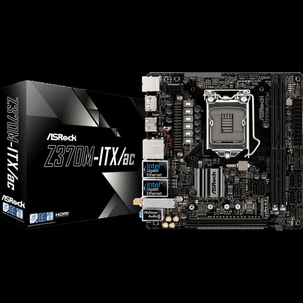 ASRock Z370M-ITX/ac Intel 1151 v2 Mini ITX