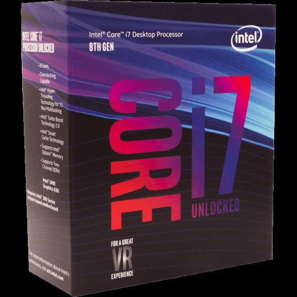 Intel Core i7 8700K 6x 3,70 GHz WOF (BX80684I78700K)