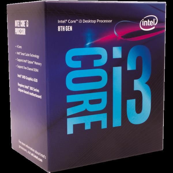 Intel Core i3 8100 4x 3,60 GHz BOX (BX80684I38100)