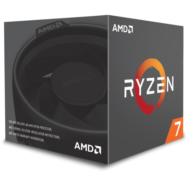 AMD Ryzen 7 2700 8x 3,20 GHz BOX (YD2700BBAFBOX)