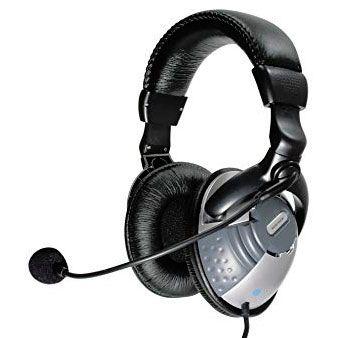 Wavemaster HPX-2000 M Over-Ear Headset 3,5 mm Klinke schwarz (HPX-2000M)