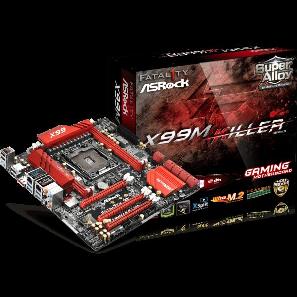 ASRock Fatal1ty X99M Killer Intel 2011-3 µATX