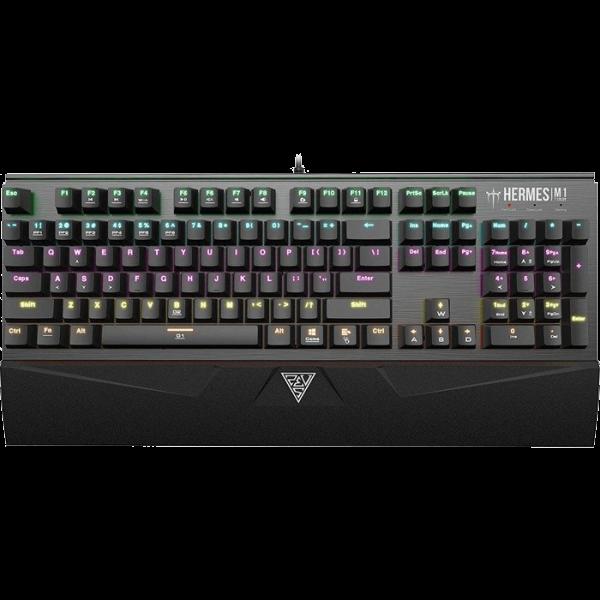 Gamdias Hermes M1 mechanische Tastatur TTC Blue schwarz (DE)