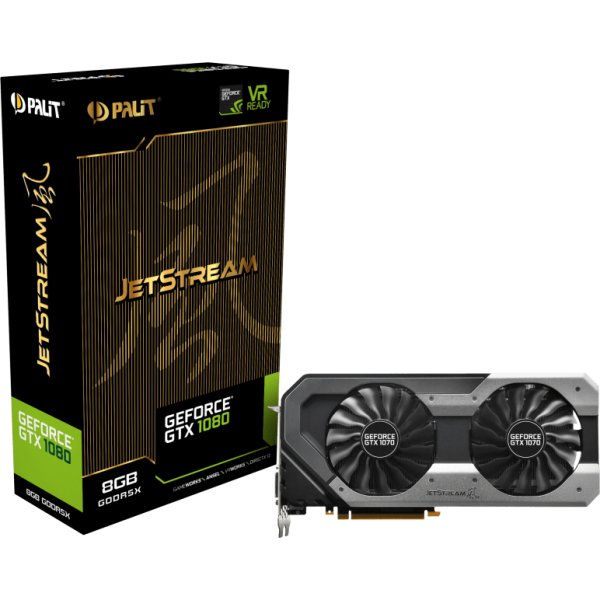Palit GeForce GTX 1080 JetStream 8 GB GDDR5X Retail