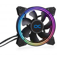 Alphacool Eiszyklon Aurora LUX Pro Digital RGB 120 mm Lüfter LED RGB (24806)