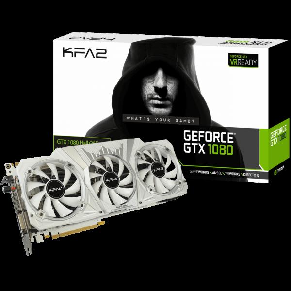 KFA2 GeForce GTX 1080 Hall of Fame 8 GB GDDR5X Retail
