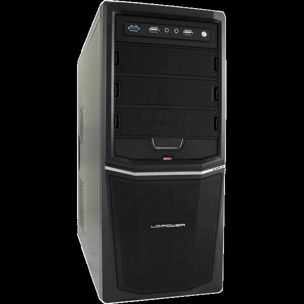 LC-Power Pro 924 B schwarz Midi Tower inkl. 420 Watt Netzteil