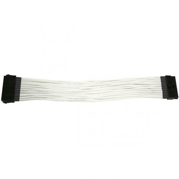 Nanoxia 24-Pin ATX 30 cm Verlängerung weiß (NX24V3EW)