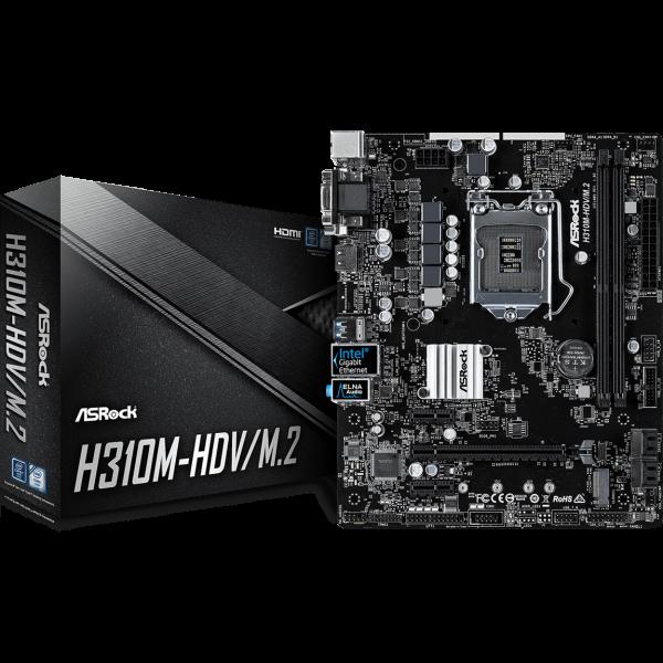 ASRock H310M-HDV/M.2 Intel 1151 v2 µATX
