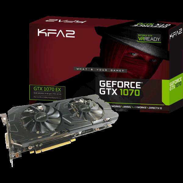 KFA2 GeForce GTX 1070 EX 8 GB GDDR5 Retail