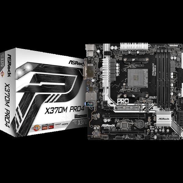 ASRock X370M Pro4 AMD AM4 µATX