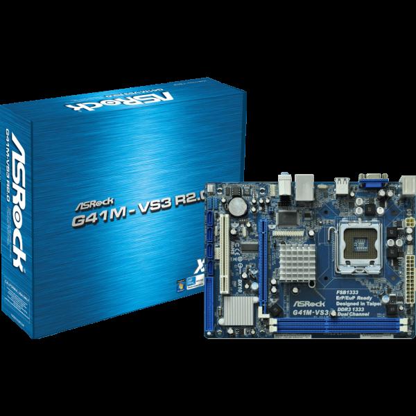 ASRock G41M-VS3 R2.0 Intel 775 µATX