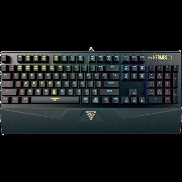 Gamdias Hermes P1 mechanische Tastatur TTC Blue TKL schwarz (DE)