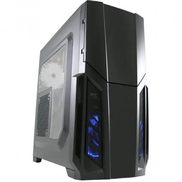 LC-Power 982 B Redeemer schwarz Midi Tower mit Acrylfenster