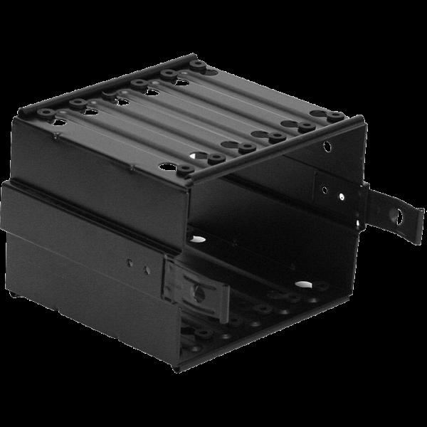 Nanoxia N6SSDK Montagerahmen 6-fach kurz schwarz (N6SSDK)