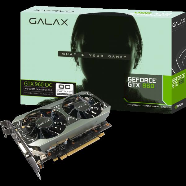 KFA2 GeForce GTX 960 OC 2 GB GDDR5 Retail