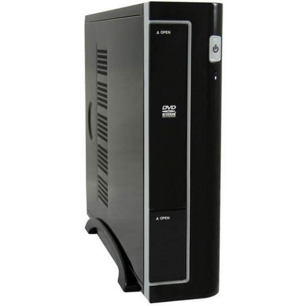 LC-Power LC-1370BII schwarz ITX Tower inkl. 90 Watt Netzteil