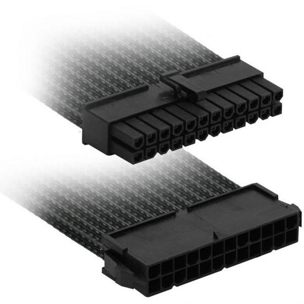 Nanoxia 24-Pin ATX 30 cm Verlängerung schwarz (NX24V3E)
