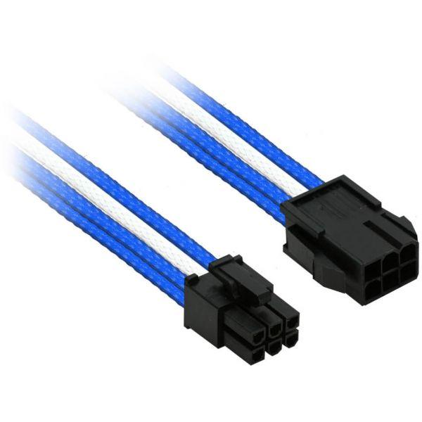 Nanoxia 6-Pin PCIe 30 cm Verlängerung schwarz (NX6PV3EBW)