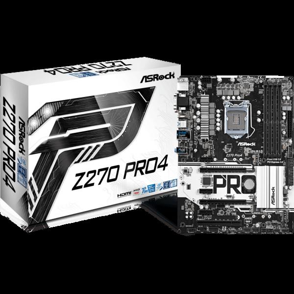 ASRock Z270 Pro4 Intel 1151 ATX
